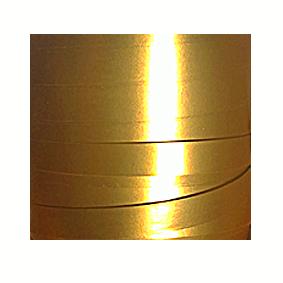 Guldfärgat presentsnöre i metervara