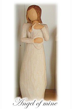 Figurin Angel of mine