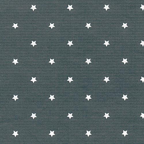 Grått med vita stjärnor, gråvita pappband
