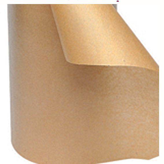 Brunt kraftpapper med brunvita pappband