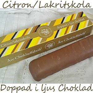 Åre Choklad - Lakrits/Citronkolastång