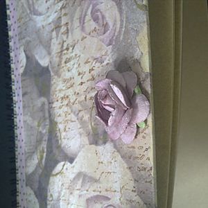 """Anteckningsbok """"Paper-rose"""" A5-format."""