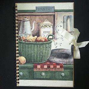 "Anteckningsbok ""My Kitchen"" Grön, A5-format."
