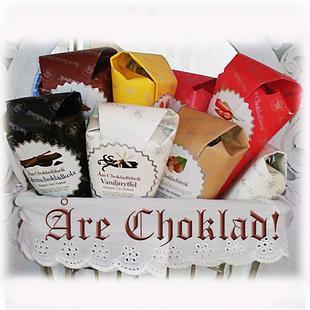 SKICKA CHOKLADGÅVA! 3 strutar/bräck Åre Choklad inkl. frakt