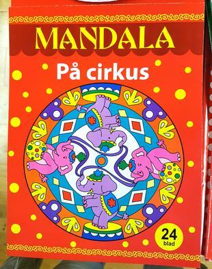 Målarbok Mandala, På cirkus