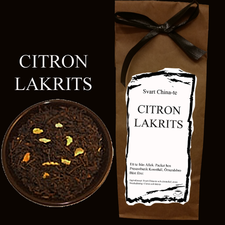 Citron/Lakrits - China-te