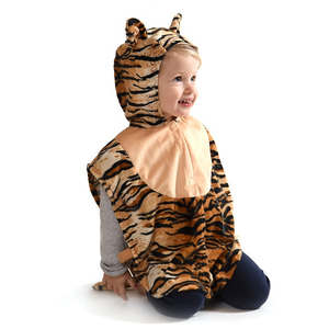Babycape, tiger, 2-4 år