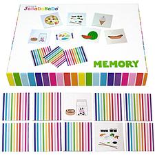 Memory, matbilder i fin kartong