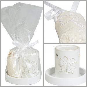 Aromalykta med doftolja och doftkudde - Presentförpackad