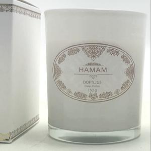 Doftljus Hamam, Clean cotton