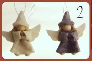 Pysselpåse änglar - välj mellan 4 olika