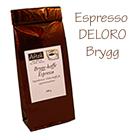 Espresso Deloro, brygg