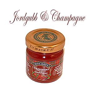 Marmelad - Jordgubb & Champagne
