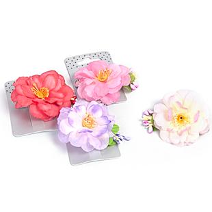 Hårklämma, stor blomma - välj färg