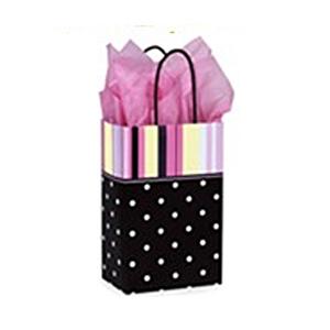 Presentpåse Dots & Stripes