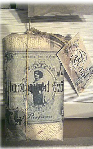 Handgjord tvål, Äkta lavendel