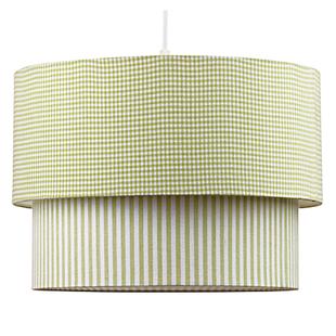 Lampskärm, tak, grön - Välj med eller utan sladd!
