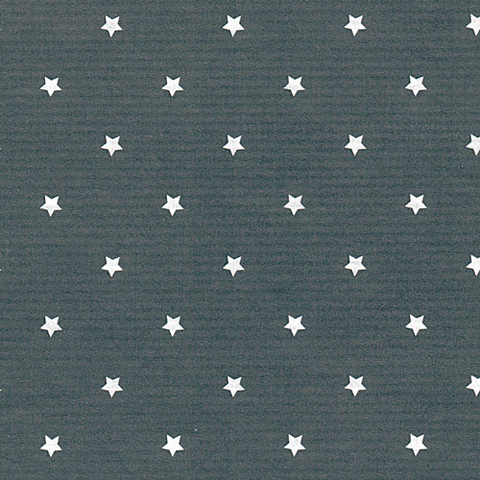 "Presentpapper, kraft ""Grey star"" - metervara"