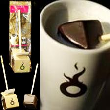 Choc-o-lait Drickchokladsticka, Hasselnötstryffel doppad i mörk Choklad