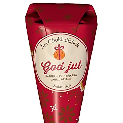 """""""GOD JUL"""", Strut med text, Åre Choklad"""