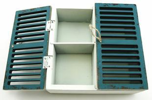 Telåda/förvaringslåda/skåp fönsterluckor
