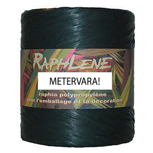 Raphlene, presentband svart - Metervara