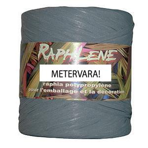Raphlene, presentband grått- Metervara