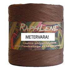 Raphlene, presentband brunt - Metervara