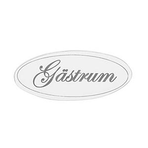 "Skylt ""Gästrum"""