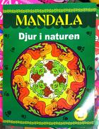 Målarbok Mandala, Djur i naturen.