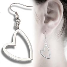 Örhängen hjärta