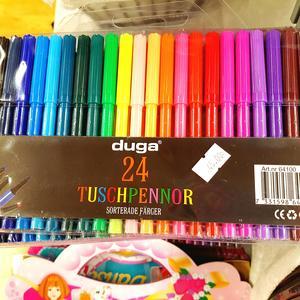 Färgpennor barn 24 st